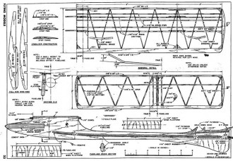 Sidewinder 2 model airplane plan