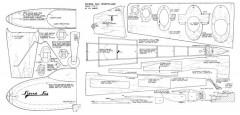 Sierra Sue model airplane plan