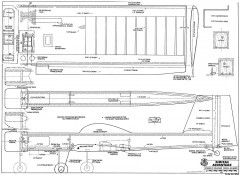Simitar Advantage RCM-1254 model airplane plan