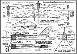 Simple Flyman model airplane plan