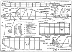 Simple Simon plan model airplane plan
