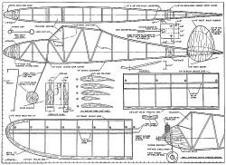 Simple Simon plan model airplane plan