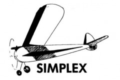 Simplex model airplane plan