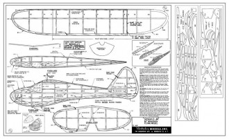 Sinbad Jr model airplane plan