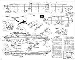 Sinbad the Sailor 50 model airplane plan
