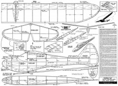 Sinbad 40 model airplane plan