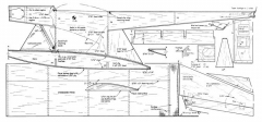 Size 9 model airplane plan