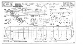 Skiffler model airplane plan