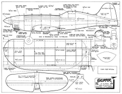 Skipper-1 model airplane plan