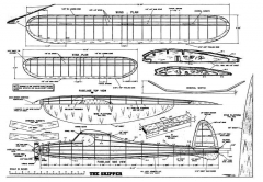 Skipper 3 model airplane plan