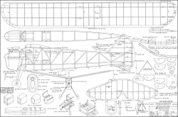 Skipper 48in model airplane plan