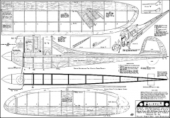 Skipper FF Turner model airplane plan