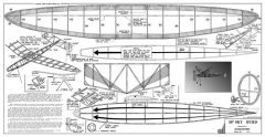 Sky Burd model airplane plan