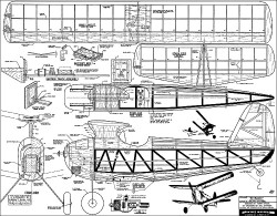 SkyBuggy Berkeley 1947 model airplane plan
