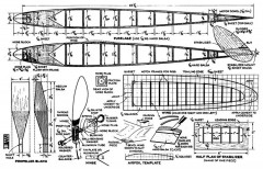 Sky Climber model airplane plan