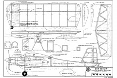 Sky Knight RCM-959 model airplane plan