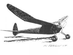 Sky Rocket model airplane plan