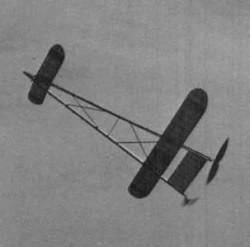 Sky Scraper model airplane plan