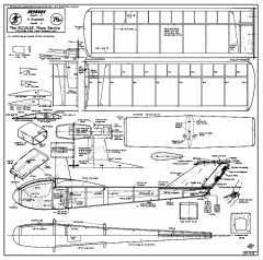 Skybaby SC model airplane plan