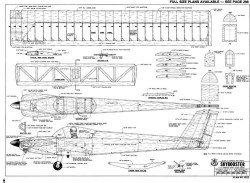 Skybooster-RCM-07-88 model airplane plan