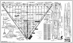 Skydelta model airplane plan
