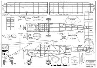 Skyfarer Stahl model airplane plan