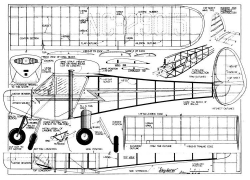 Skyfarer plan model airplane plan