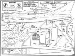 Skyhawk model airplane plan