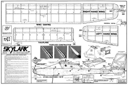 Skylark Aeroflyte model airplane plan