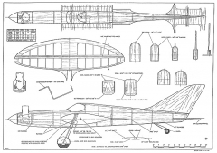 Skylark Pailet CL model airplane plan