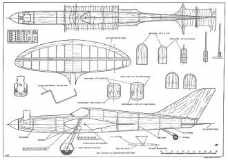 Skylark Pailet CL model airplane plan