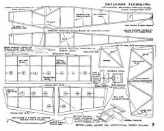 Skyleada Fledgling model airplane plan