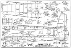 Skymaster 20 MK model airplane plan