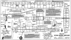 Skymaster 24in model airplane plan