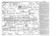 Skyray KK model airplane plan