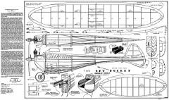 Skyrocket Berkeley model airplane plan