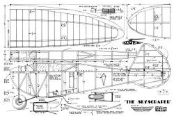 Skyscraper 1938 model airplane plan