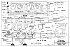 Skywalker model airplane plan