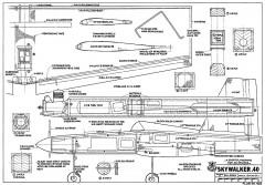 Skywalker 40 RCM-935 model airplane plan