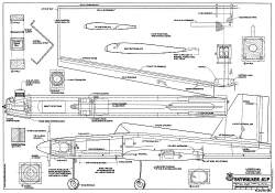 Skywalker 61 RCM-934 model airplane plan