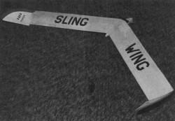 Sling Wing model airplane plan
