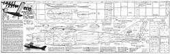 Smoke Trail model airplane plan