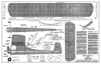 Sniffer model airplane plan