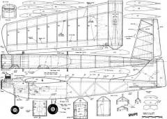 Snipe RC model airplane plan