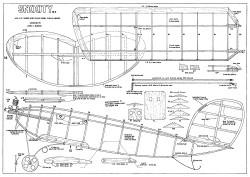 Snooty Mk2 model airplane plan