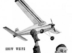 Snow White model airplane plan