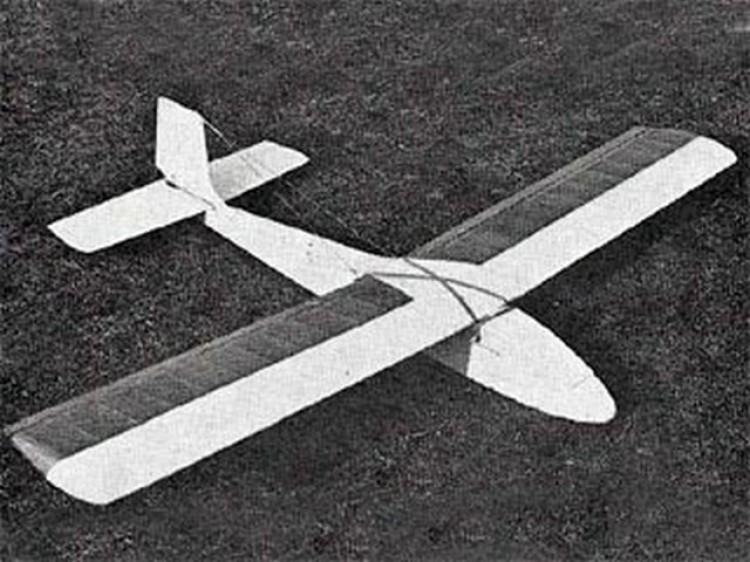 Soar-Cy II model airplane plan