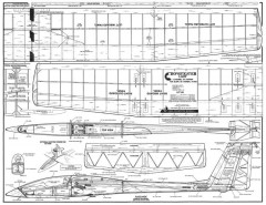 Sophisticated Lady model airplane plan