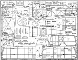 Sopwith Camel 4 model airplane plan