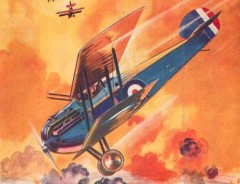 Sopwith Dolphin model airplane plan